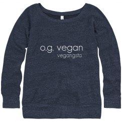 og vegan eco fleece