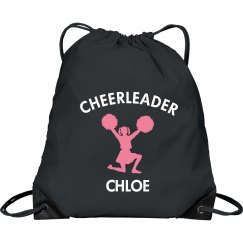 Custom Drawstring cheer bag