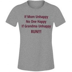 if grama unhappy run