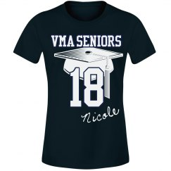Senior Tee Female cut