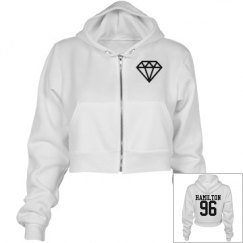 Normani Hamilton Cropped Hoodie