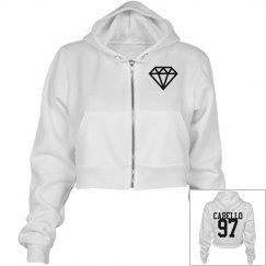 Camila Cabello Cropped Hoodie