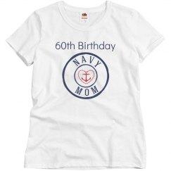 Navy mom 60th birthday