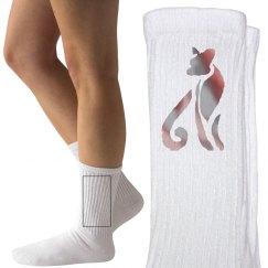 Red Tabby Socks