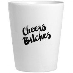 Cheers shotglass