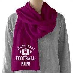 Football Mom Custom Scarf