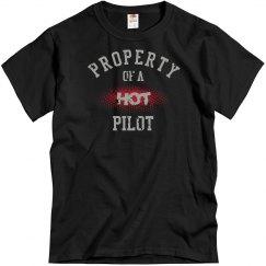 Property of a hot pilot