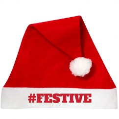 Trendy FESTIVE Santa Hat