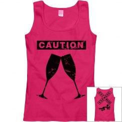 Caution Hot Mess Express