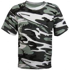 camo rocks tee shirt