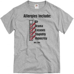 Allergic to you