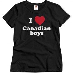 I love Canadian boys!