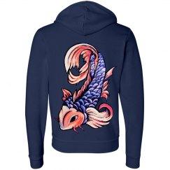 Koi Fish Hoodie 3