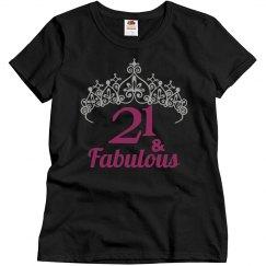 21st Birthday - Crown