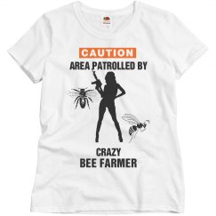 Patrolled by crazy bee farmer