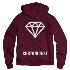 Engaged Custom Text Hoodie Bride
