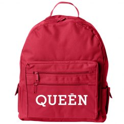 Hot Pink Queen Bookbag
