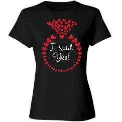 Bachelorette Party - I said yes