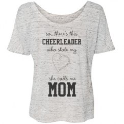 Stole My Heart Cheer Tee