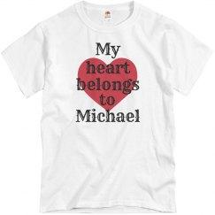 Heart belongs to Michael