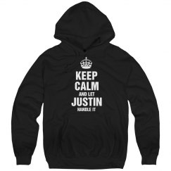 Let Justin handle it