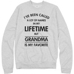 Grandma my favorite name