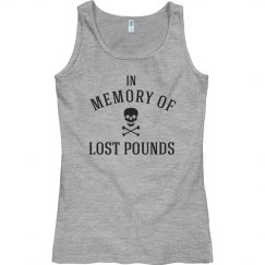 In memory of lost pounds