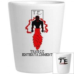 T.E. Shot Glass