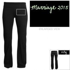 Wifey 2015 Yoga Pants