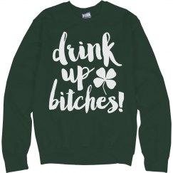 Drink Up St Patricks Bar Crawl