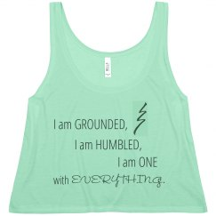 Reiki Grounded Tank