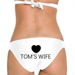 Tom's Wife on the Beach
