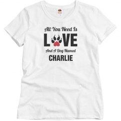 Custom pet dog shirt