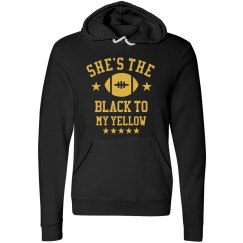 Black To My Yellow Hoodie