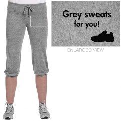 Grey sweats!