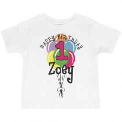 1 year old! Zoey