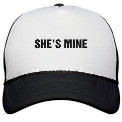 She's Mine Trucker Hat