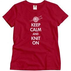 Keep Calm Knit On
