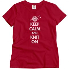 Keep Calm Knit On
