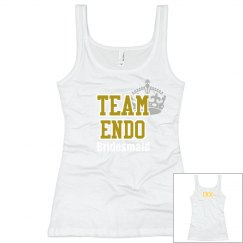Team endo tank with crown