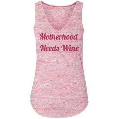 Motherhood needs wine