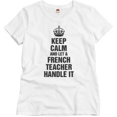 French teacher handle it
