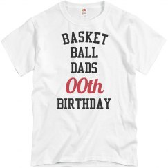 Customize bball dad birthday