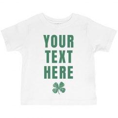 Custom St Pat Shirts For Kids
