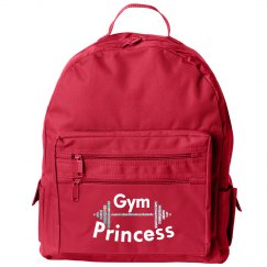 Gym Princess w/Glitter Barbell