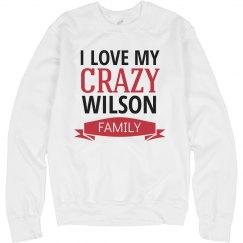 Crazy wilson family