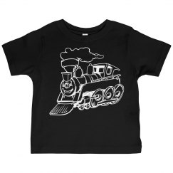 Smiling Train Toddler Tees