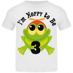 3rd Birthday Frog