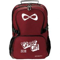 Zoe. Cheer girl