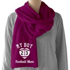 My Boy Football Mom Scarf